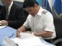 Firma del Contrato para los nuevos Sistemas Radar de Nicaragua - COCESNA, Honduras