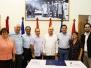 Firma del Convenio de Transporte Aereo y Asistencia Tecnica 2015 Nicaragua - Cuba