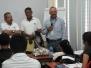 Conversatorio del Director General del INAC con los estudiantes del Curso Básico ATC
