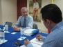Reunion Director General INAC - Delegado Cooperación Técnica OACI