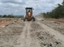 Supervisión de construcción de plataforma en aeródromo de San Carlos