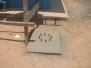 Obras de construcción de caseta de comunicación AIS - Aeropuerto de San Carlos