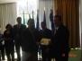 Entrega de reconocimiento a COCESNA por su Apoyo en la Auditoria OACI de Nicaragua