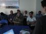 Continúa campaña contra el Peligro Aviario - Reunión con autoridades miebros del comité