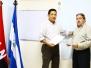 Visita de Trabajo - Especialistas del ISMET de Cuba