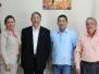 Visita del Embajador de Canada al INAC