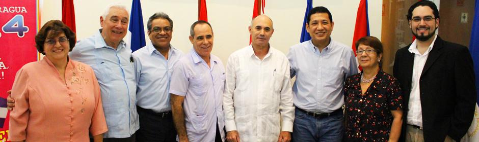 Nicaragua y Cuba estrechan lazos de  Cooperación Aeronáutica