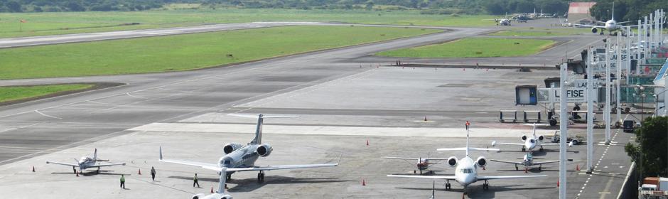 El trabajo de la Autoridad de Aviacion Civil