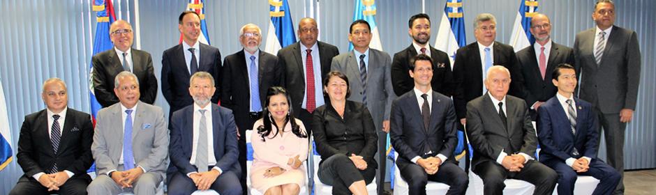 Nicaragua participa en Reunión del Consejo Directivo de COCESNA y la Unión Europea