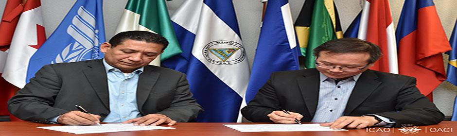 EL ESTADO DE NICARAGUA Y LA OACI, FIRMAN PLAN DE ACCIÓN DEL PROGRAMA SISTÉMICO DE ASISTENCIA (SAP) EN OACI- NACC, México, el 13 marzo 2019.