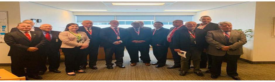 Autoridades del INAC participan en reunión del Consejo Ejecutivo de COCESNA en la OACI