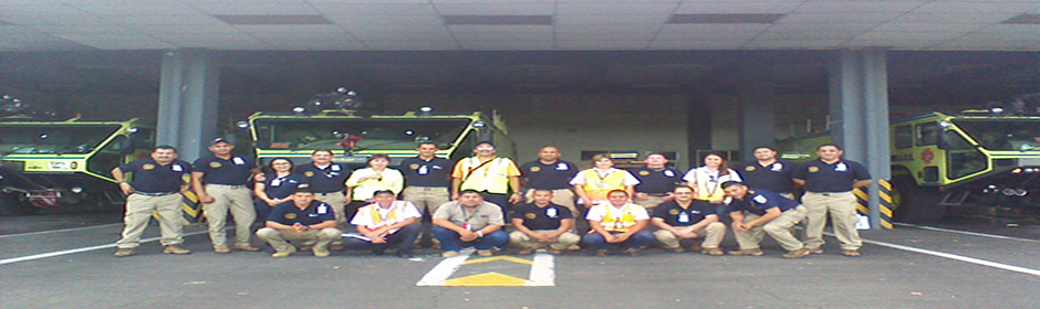 Nicaragua participó en el Curso de Salvamento y Extinción de Incendios (SEI) en el ICCAE, San Salvador, el Salvador en las fechas del 22 al 26 de julio de 2019.