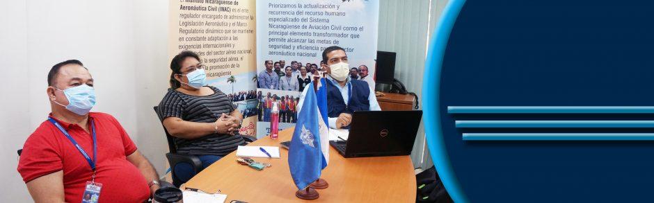 INAC PRESENTE EN WEBINARIO SOBRE PASAJEROS INSUBORDINADOS. MANAGUA, NICARAGUA EL 25 DE MARZO DE 2021.